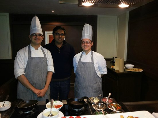 Vivanta by Taj Aurangabad: Three Budding Chefs, Live Counter