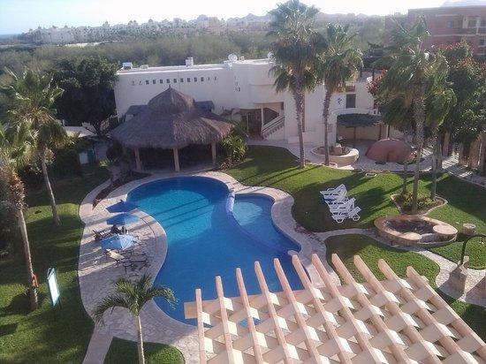 El Ameyal Hotel & Family Suites : vista desde la habitacion