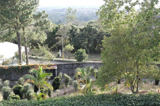 Hotel Desire Costa Rica : Gardens from our third story balcony
