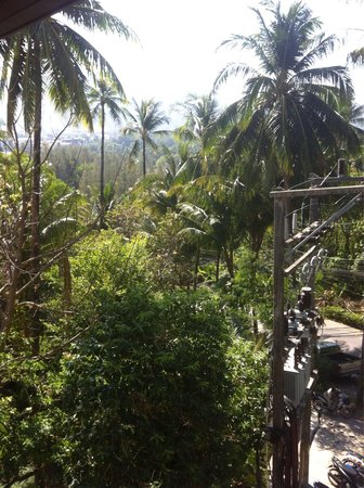 Peach Hill Hotel & Resort : Вид с номера