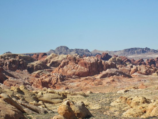 Pink Jeep Tours Las Vegas : Rainbow Vista