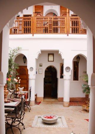 Riad Slawi : courtyard