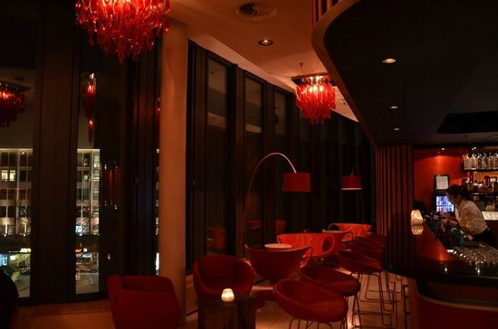 Swissotel Berlin : Le bar