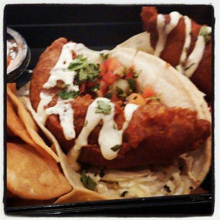The Draft Sports Bar & Grill: Mahi Mahi Fish Tacos #TRC #MK