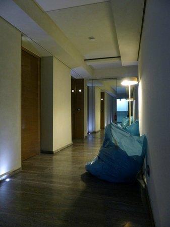 Hotel Romano House : Müllsäcke vor den Zimmern