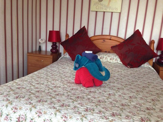 The Regis Lodge B&B: Comfortable Bed