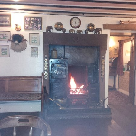 Fat Lamb Country Inn and Restaurant : The pubs heating system