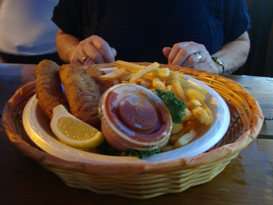 Bahia Cabana Restaurant & Bar : Fish and Chips