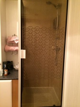Glendale Guest House: shower cubicle in room 2 -watch the steep step up tho!