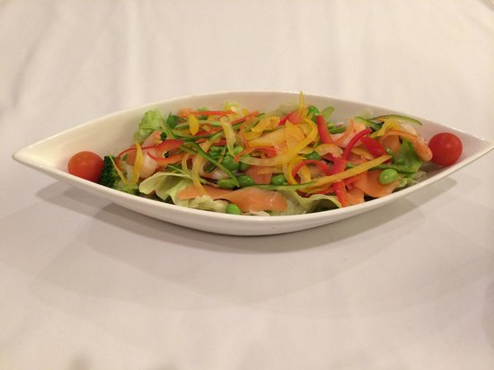 Spa & Hotel Maihama Eurasia: very tasty fresh veg salad