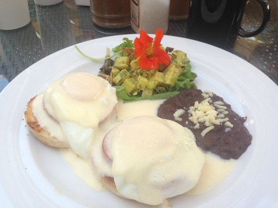 Penny Lane Cafe : YUMMY Eggs Benedict!