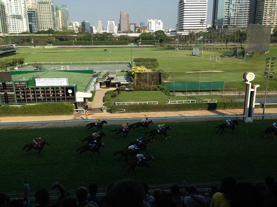 The Royal Bangkok Sports Club: finish