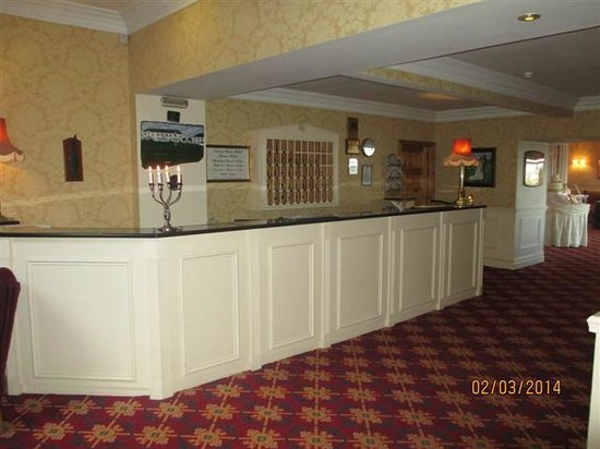 Crover House Hotel & Golf Club: Reception