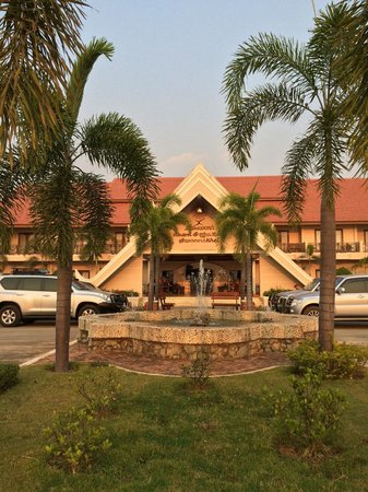 Daosavanh Resort & Spa Hotel : Daosavanh Resort Entrance