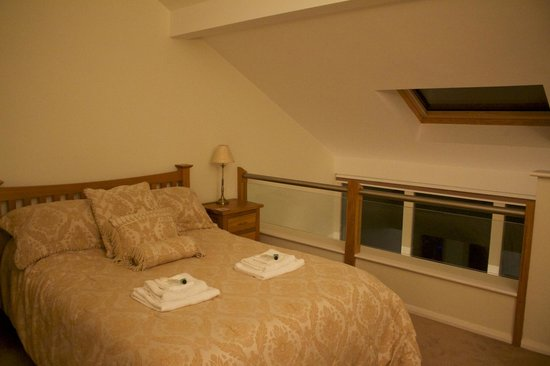 High View Meadows: upstairs bedroom
