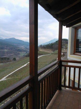 Maso Pomarolli: Vista dal balcone della nostra camera
