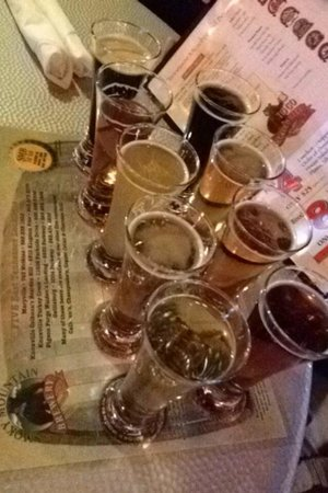 Smoky Mountain Brewery & Restaurant: The Beer Sampler... :)