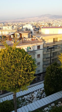 Novotel Athenes: Rooftop view
