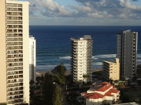 Wyndham Surfers Paradise : View from our apartment
