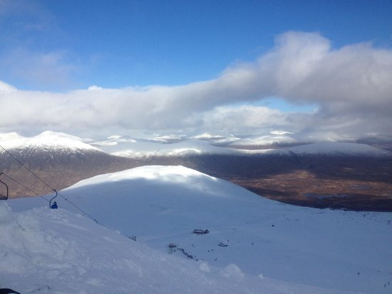 Creag Mhor Lodge : Sublime views from glencoe