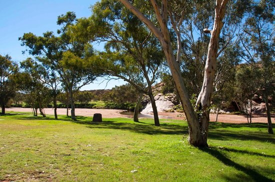 Alice Springs Telegraph Station Historical Reserve: Nice picnic area