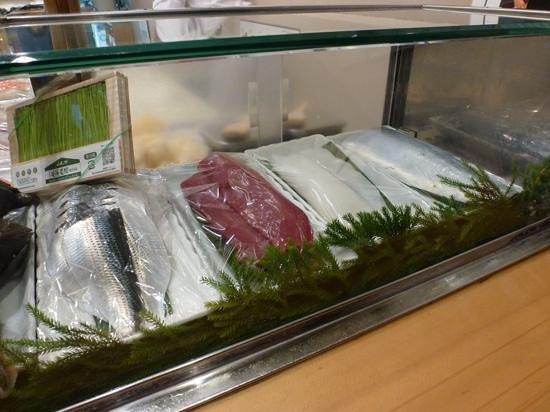 Yamazaki: uncut fish ready to go
