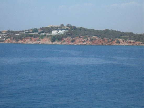 The Westin Athens Astir Palace Beach Resort: balkondan deniz manzarası