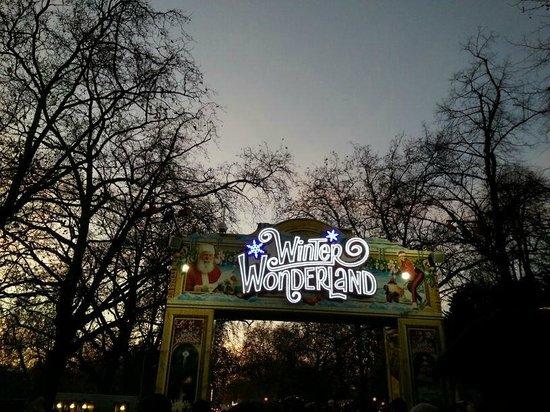 Winter Wonderland: Entrata
