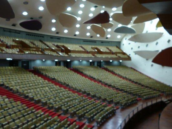 Universitätsstadt von Caracas (Ciudad Universitaria de Caracas): Аудитория Aula Magna, «Облака» работы американского скульптора Александера Колдера