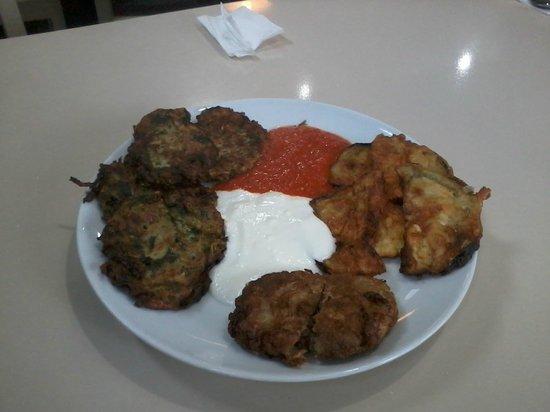 Cukurcuma Koftecisi : Fried plate