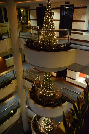 Mediterranean Beach Hotel: CHRISTMAS DECOTATION