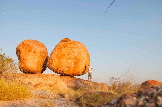 Wauchope, Australia: big boulders