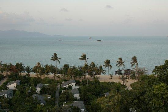 W Retreat Koh Samui: overlooking beachside villas