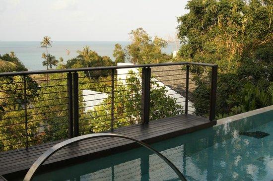 W Retreat Koh Samui: View from hillside pool villa 222