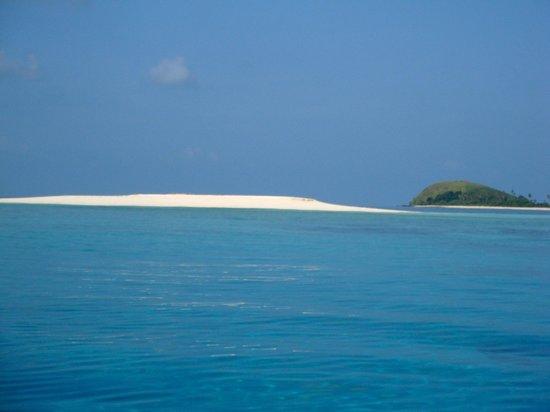 Likuliku Lagoon Resort: Mana Sandbar
