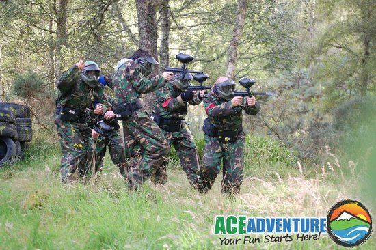 ACE Adventure: Woodland Paintball