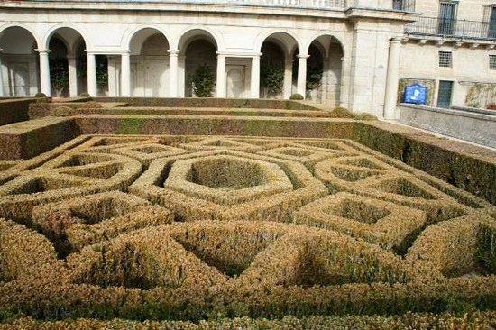 Monasterio y Sitio de San Lorenzo de El Escorial: Парк