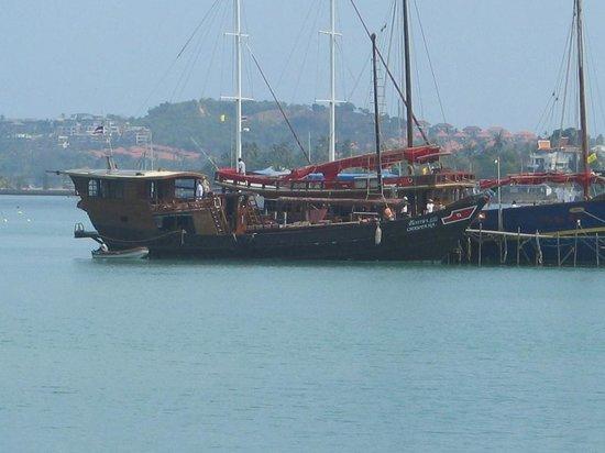 Chantara, Junk Boat: Chantara am Bang Rak Pier
