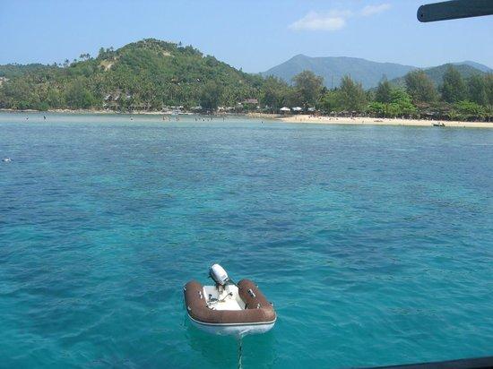 Chantara, Junk Boat: Vor der Insel Ko Mok