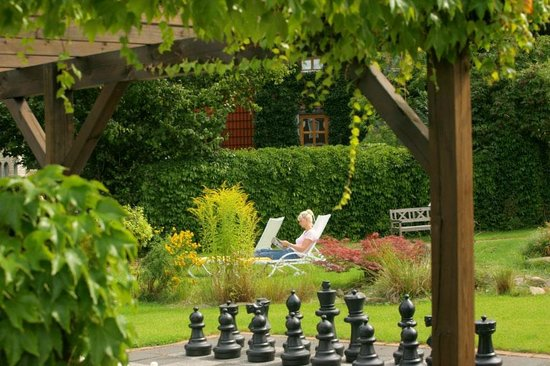 Romantikhotel Braunschweiger Hof: Garten