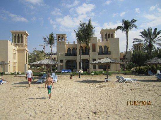 Hilton Al Hamra Beach & Golf Resort: Our Beach Villa