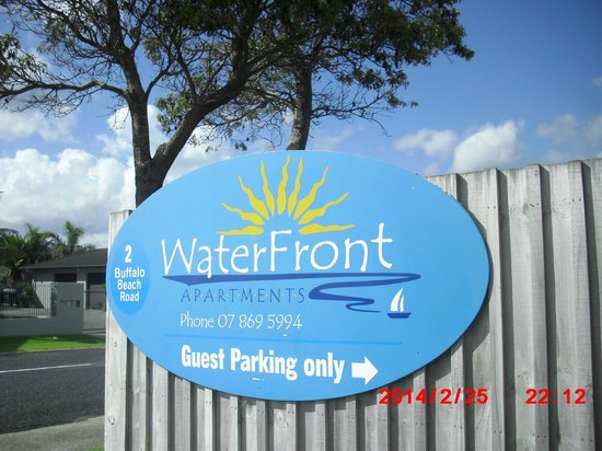 Waterfront Apartments : A wonderful stay