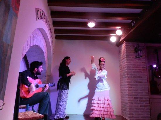 Casa de la Guitarra: serata di flamenco