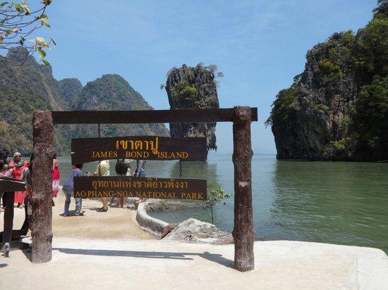 Two Sea Tour : La fameuse ile de James Bond