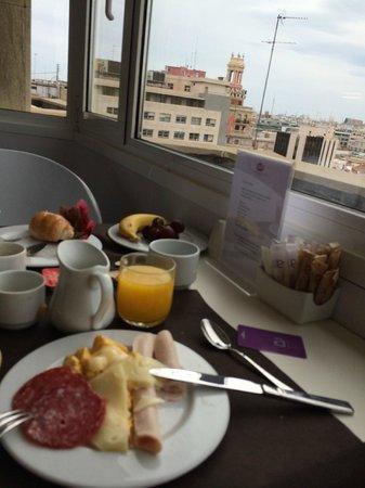 Ayre Hotel Astoria Palace : Colazione con Vista