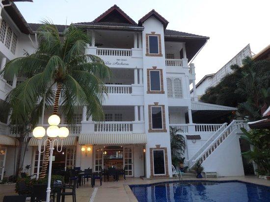 Villa Atchara : la facade