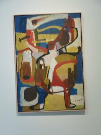 CoBrA Museum of Modern Art: Exemple de tableau