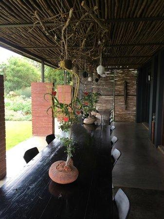 Liedjiesbos B&B: The stoep (patio)