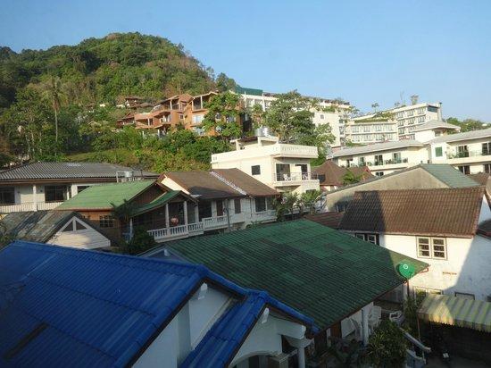 Villa Atchara : la vue de la chambre 12