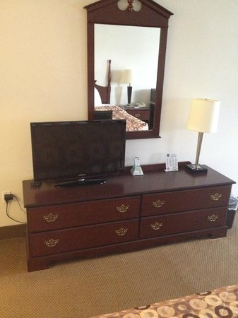 BEST WESTERN Garden State Inn: TV (Could be the a little larger)